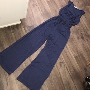 Max Studio Navy Pant Jumpsuit